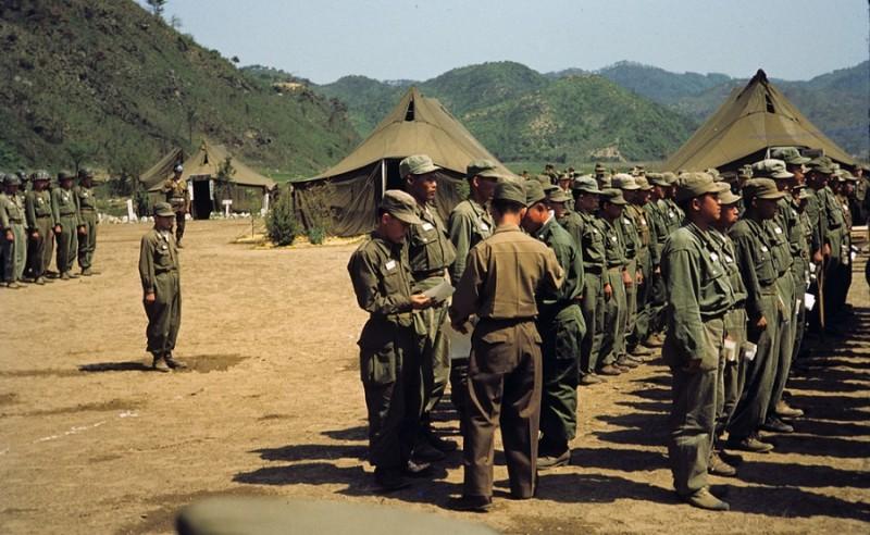 6 Korean Service Corps award ceremony, 1953.jpg